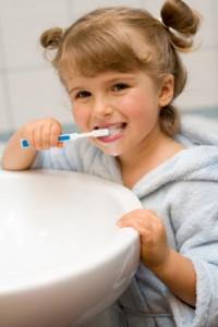 Gyermekfogászat, fogmosás
